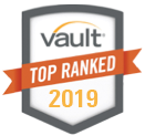 Vault Top Ranked Overall Diversity 2019 Badge