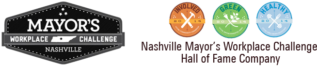 Nashville Mayor Workplace Challenge Badge