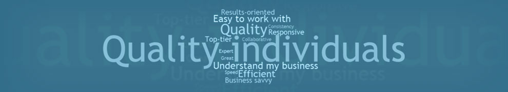 Banner of what our clients say